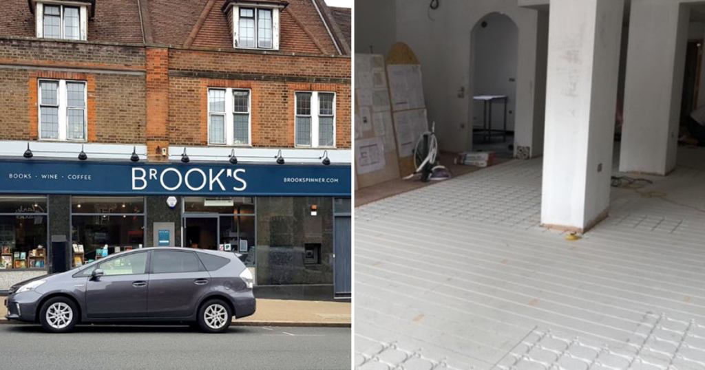Brook's UFH Installation