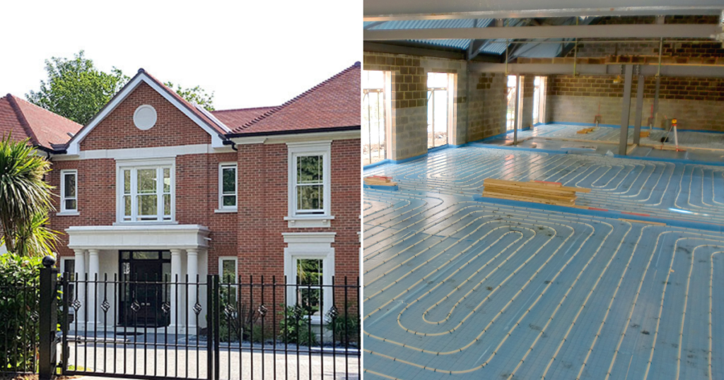 Nicholas Way UFH Installation