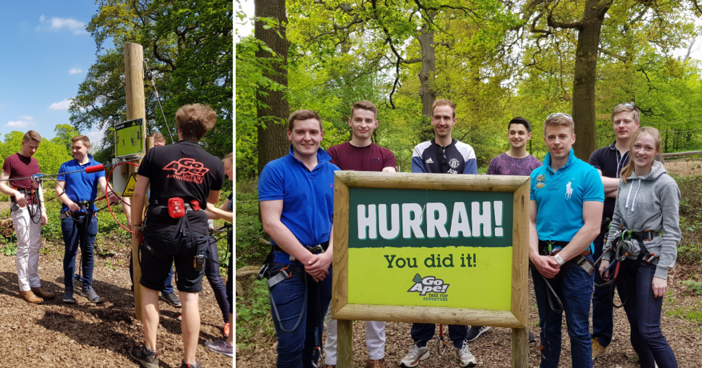 The team at Go Ape!