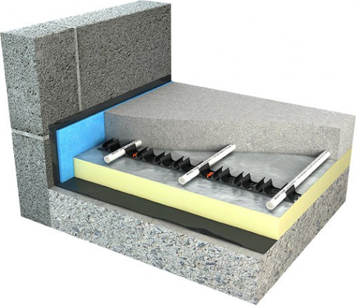 wet underfloor heating systems by ambiente water ufh. Black Bedroom Furniture Sets. Home Design Ideas