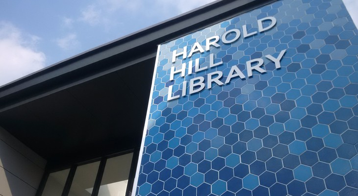 Image result for harold hill library