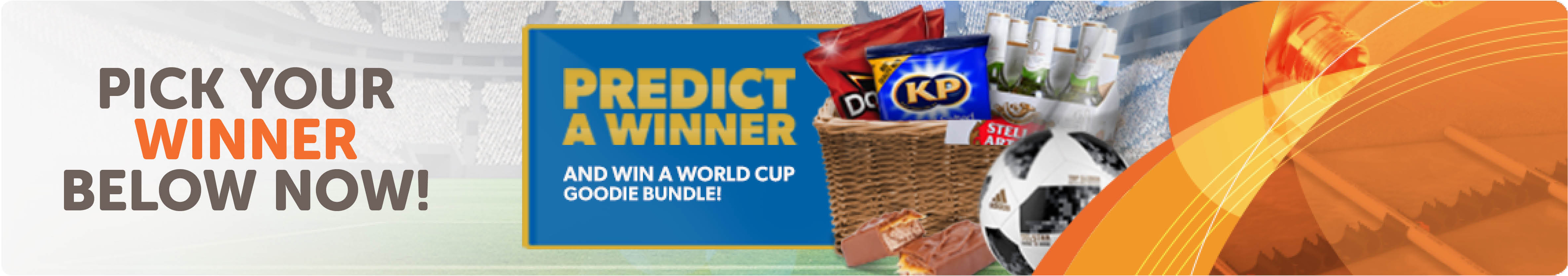 Worldcup competition banner