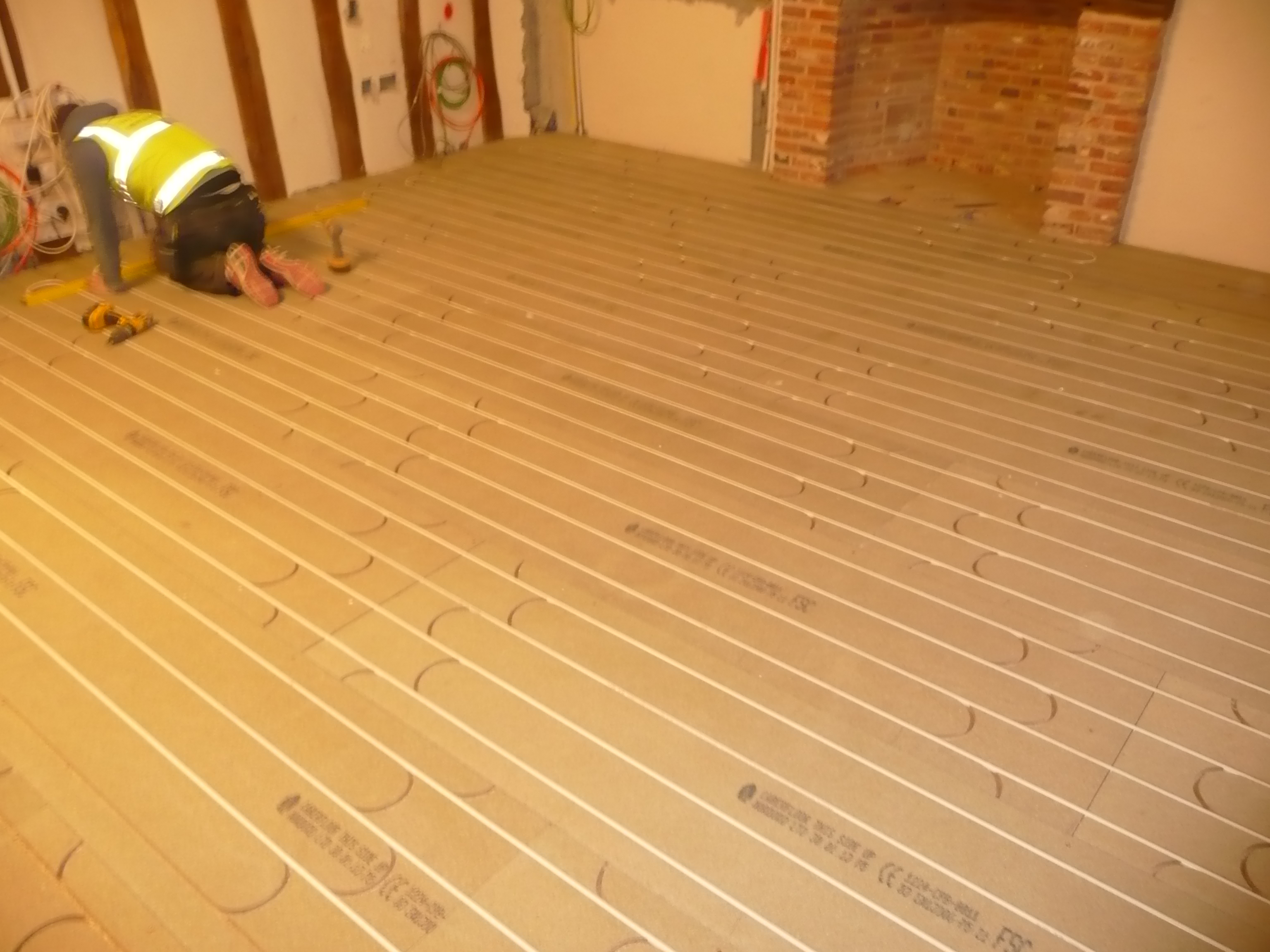 Underfloor Heating Systems For Suspended Wooden Floors