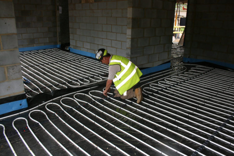 ufh pricing how much does wet underfloor heating cost. Black Bedroom Furniture Sets. Home Design Ideas