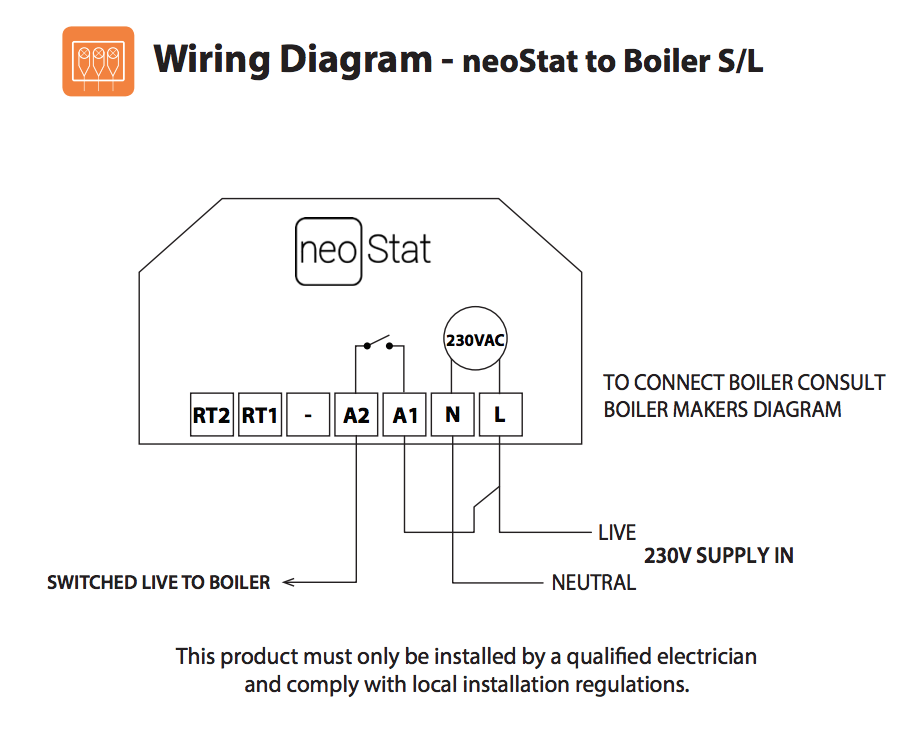 Wiring Diagram Boiler Thermostat